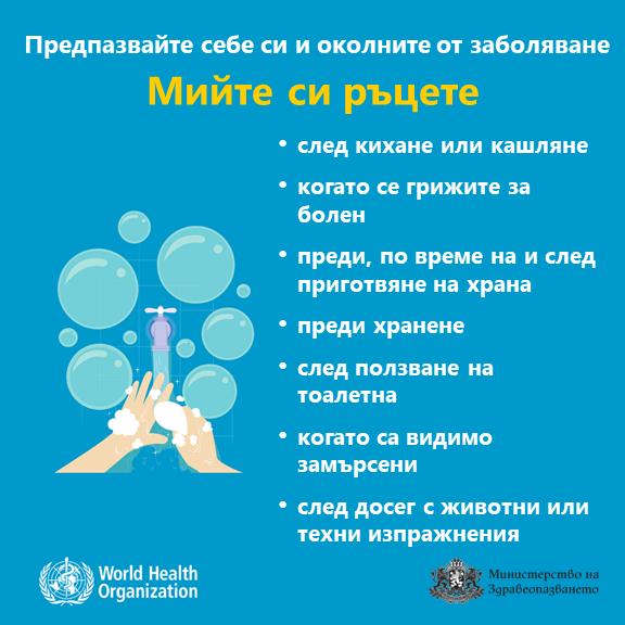 Как да предпазим себе си и околните при коронавирус COVID