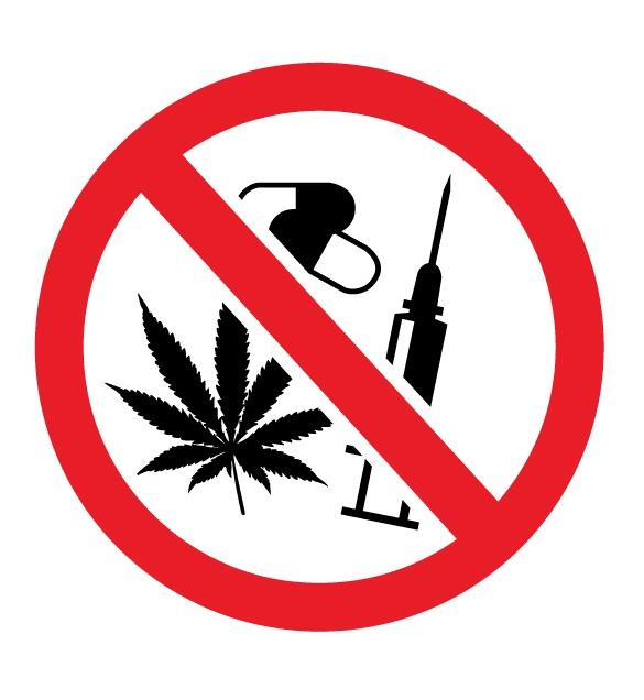 Не използвайте наркотици в басейна!