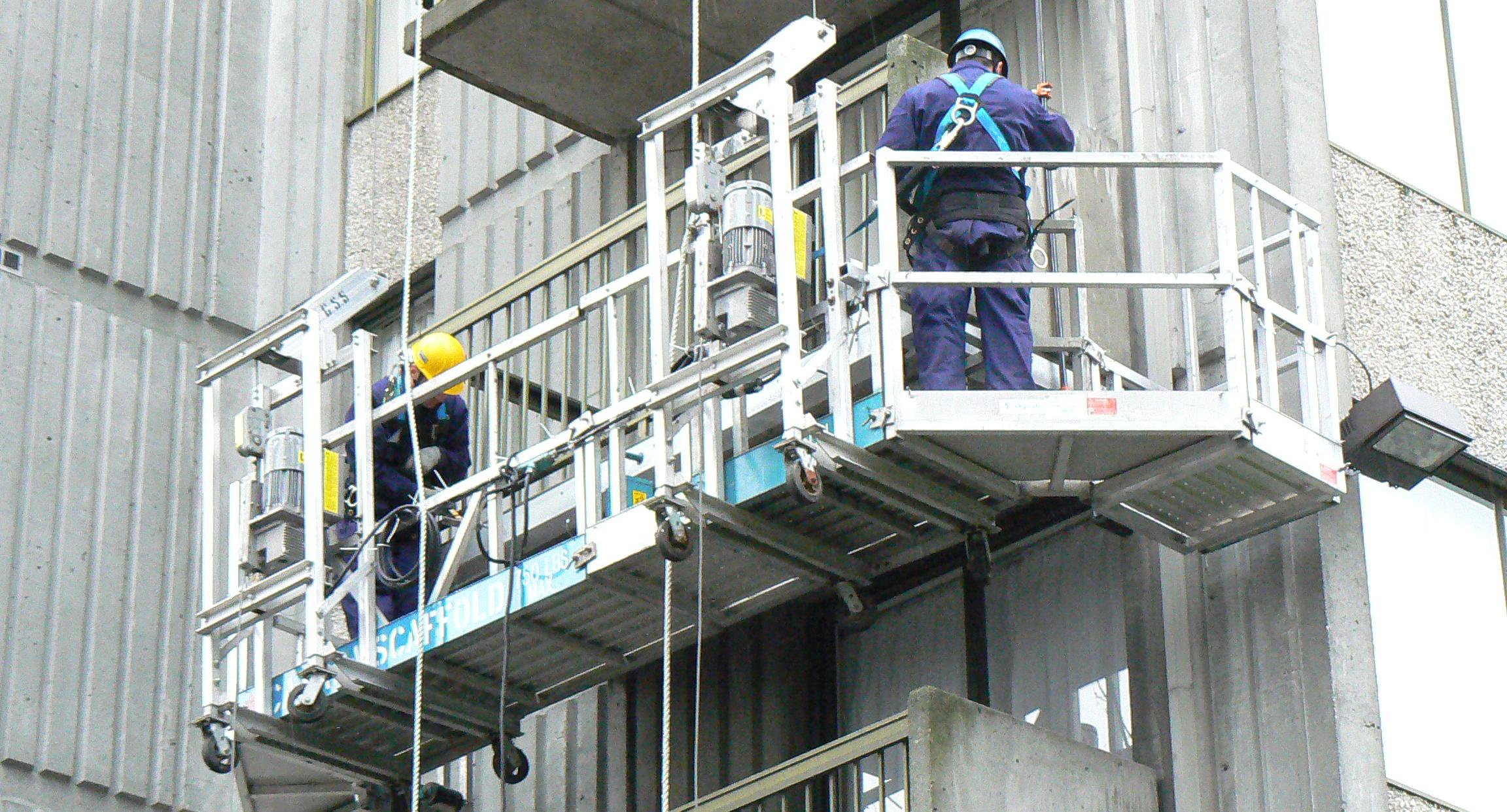 Инструкция за безопасна работа със скеле, платформа и люлка