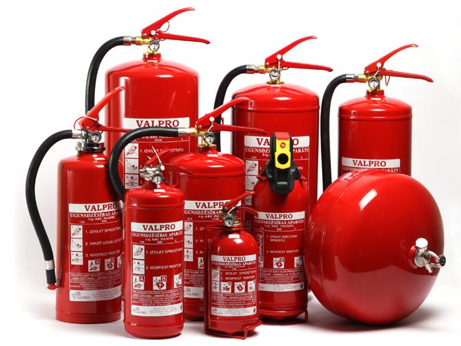 Инструкция за действие с уреди за пожарогасене
