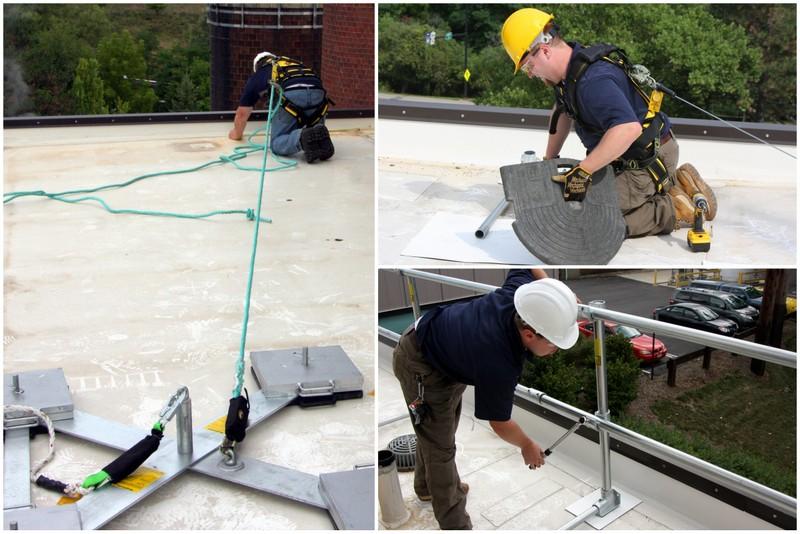 Инструкция за безопасна работа при покривни работи