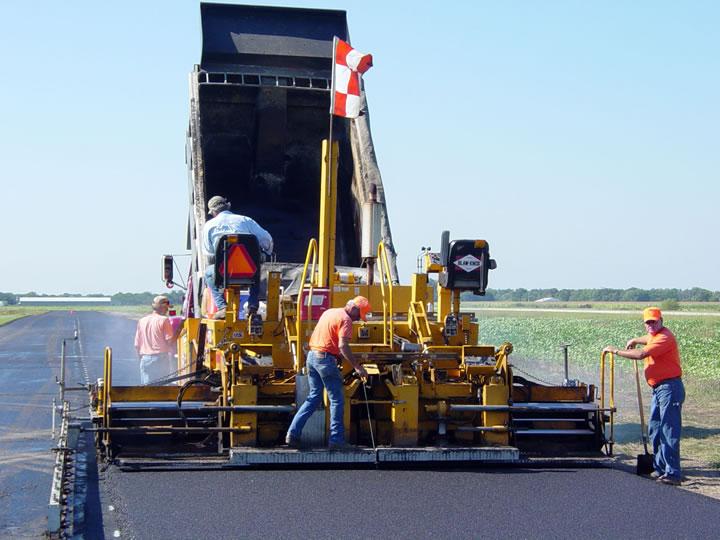 Инструкция за безопасна работа с асфалторазстилач