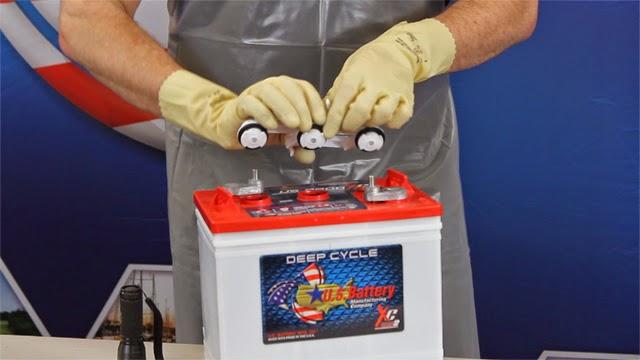 Инструкция за безопасна работа с акумулаторни батерии