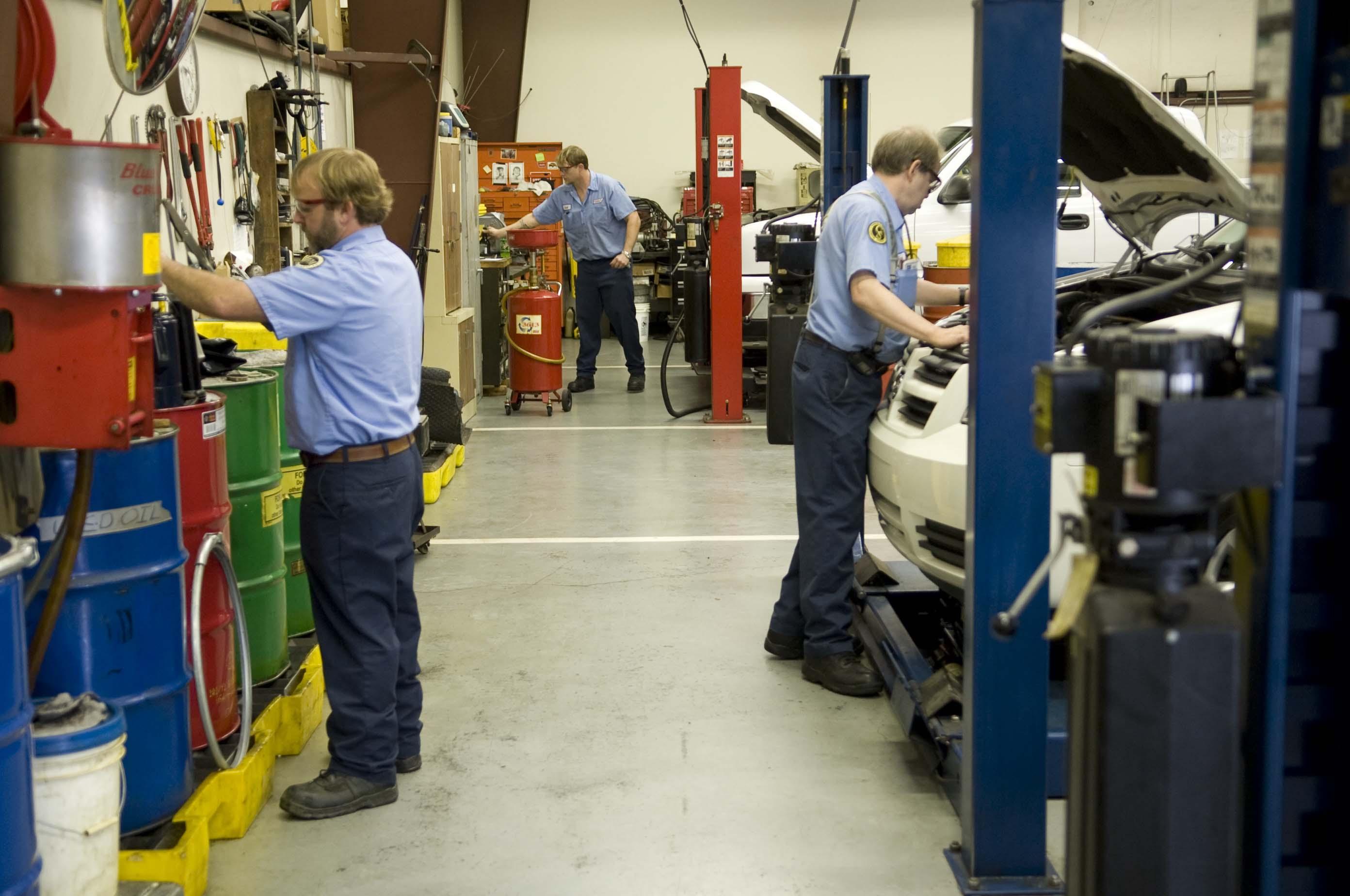 Инструкция за безопасна работа при ремонт на МПС