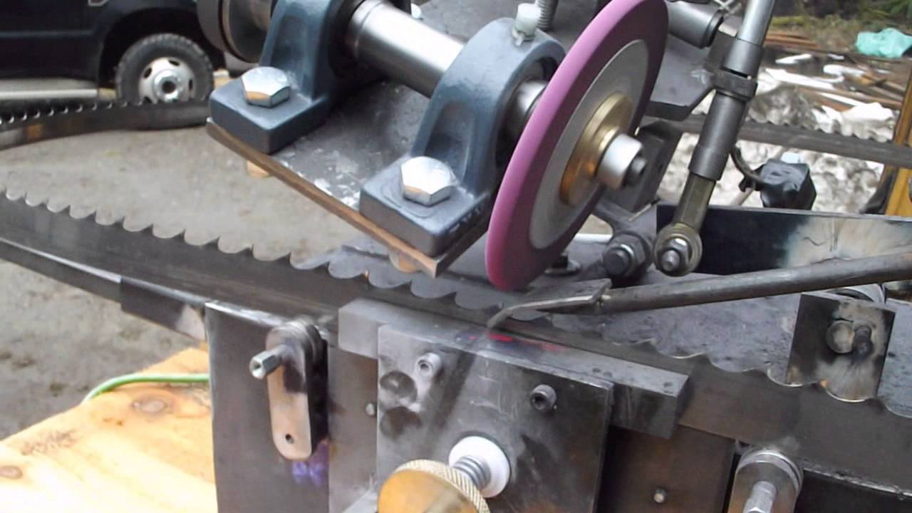 Инструкция за безопасна работа при заточване на ленти