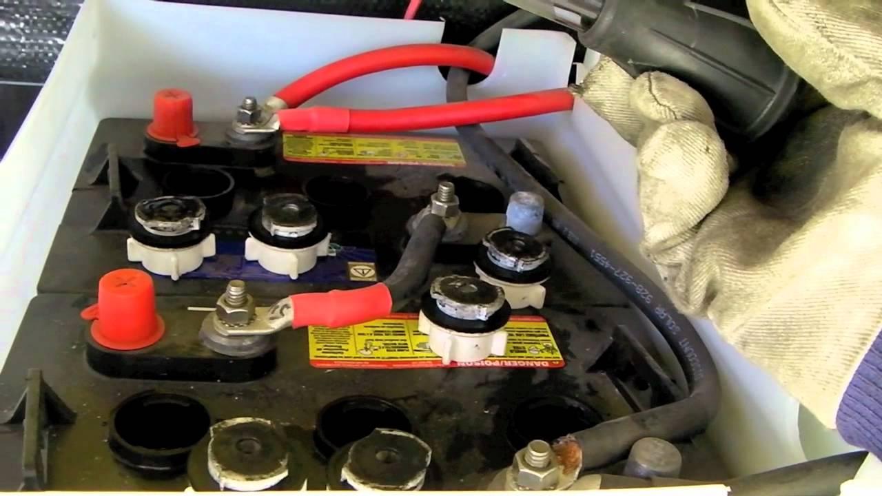 Инструкция за безопасна работа при експлоатация и поддържане на акумулаторни батерии