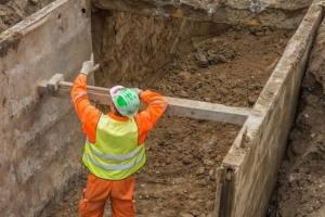 Изкопни работи правила за безопасност при направа на изкоп