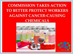 Комисията предприема действия за по-добра защита на работниците от химикали, причиняващи рак