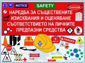 Наредба за съществените изисквания и оценяване съответствието на личните предпазни средства