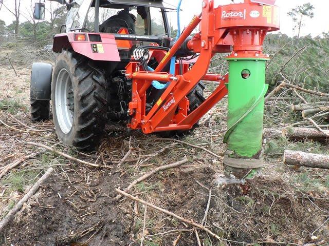 Инструкция за безопасна работа при механизирано изкореняване на пънове и терасиране
