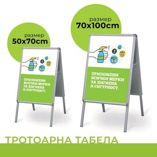Указателните табели помагат клиентите да бъдат информирани от разстояние